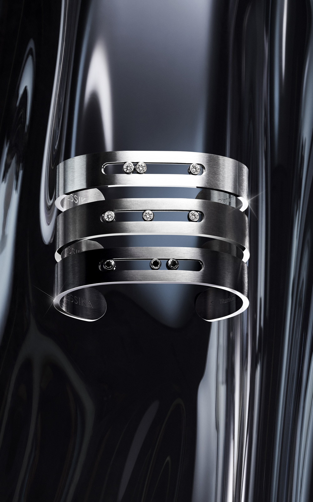Men's Diamond Thin Bracelets