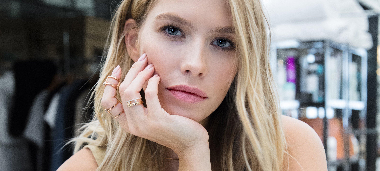 Lena Perminova shone in Messika diamond jewellery