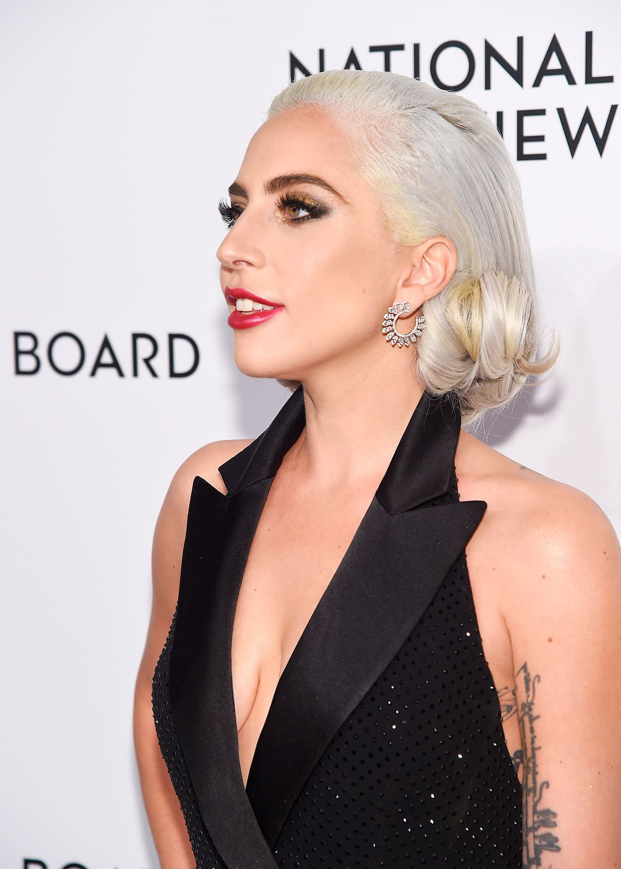 Lady Gaga Shone In Messika Diamond Jewellery